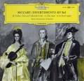 イタリア弦楽三重奏団のモーツァルト/ディヴェルティメント    独DGG 2948 LP レコード