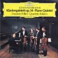 ポリーニ&イタリア四重奏団のブラームス/ピアノ五重奏曲    独DGG 2948 LP レコード