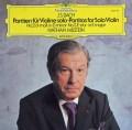 ミルシュタインのバッハ/無伴奏ヴァイオリンのためのパルティータ第2&3番    独DGG 2948 LP レコード
