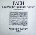 リヒテルのバッハ/平均律クラヴィーア曲集 第2巻    独eurodisc 2948 LP レコード