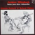 ペクラール&ピドゥのオッフェンバック/二重奏教程第1&2組曲    仏HM 2949 LP レコード