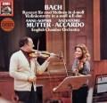 ムター&アッカルドのバッハ/2つのヴァイオリンのための協奏曲ほか   独EMI 2949 LP レコード