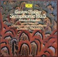 アバドのマーラー/交響曲第5番&リュッケルト歌曲集   独DGG 2949 LP レコード