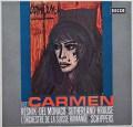 シッパースのビゼー/「カルメン」全曲   独DECCA 2949 LP レコード