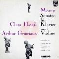 グリュミオー&ハスキルのモーツァルト/ヴァイオリンソナタ集   蘭PHILIPS 2950 LP レコード