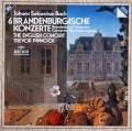 ピノックのバッハ/ブランデンブルク協奏曲全曲     独ARCHIV 2950 LP レコード