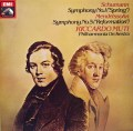 【オリジナル盤】ムーティのシューマン/交響曲第1番「春」ほか     英EMI 2950 LP レコード