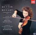 ムター&マリナーのモーツァルト/ヴァイオリン協奏曲第1番ほか     独EMI 2950 LP レコード