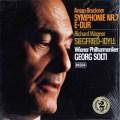 【未開封】ショルティ&ウィーン・フィルのブルックナー/交響曲第7番ほか     独DECCA 2950 LP レコード