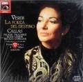 【未開封】カラスのヴェルディ/「運命の力」全曲     独EMI 2950 LP レコード