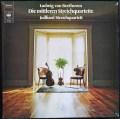 ジュリアード四重奏団のベートーヴェン/中期弦楽四重奏曲集     独CBS 2950 LP レコード