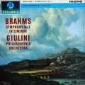 ジュリーニのブラームス/交響曲第1番 英Columbia 2996 LP レコード