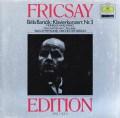 フリッチャイ&アースのバルトーク/ピアノ協奏曲第3番ほか  独DGG 2997 LP レコード