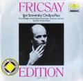 フリッチャイのストラヴィンスキー/「エディプス王」  独DGG 2997 LP レコード