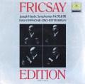 フリッチャイのハイドン/交響曲第95&98番  独DGG 2997 LP レコード