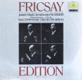 フリッチャイのハイドン/交響曲第100番「軍隊」&第101番「時計」  独DGG 2997 LP レコード