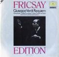 フリッチャイのヴェルディ/「レクイエム」  独DGG 2997 LP レコード