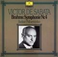 サバタのブラームス/交響曲第4番  独DGG 2997 LP レコード