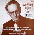 クレンペラーのバッハ/管弦楽組曲第4番&シューベルト/未完成・イン・ブダペスト  ハンガリーHUNGAROTON 2997 LP レコード