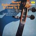 シュナイダーハンのモーツァルト/ヴァイオリン協奏曲第4&5番  独DGG 2997 LP レコード