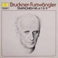 フルトヴェングラーのブルックナー/交響曲第4・7・8・9番  独DGG 2997 LP レコード