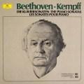 ケンプのベートーヴェン/ピアノソナタ全集  独DGG 2997 LP レコード
