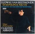 アバドのベートーヴェン/交響曲第7番ほか     独DECCA 3002 LP レコード