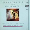 ヴァルヴィーゾのオペラ前奏曲と間奏曲集     独ETERNA 3002 LP レコード