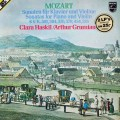 グリュミオー&ハスキルのモーツァルト/ヴァイオリン・ソナタ集   蘭PHILIPS 3002 LP レコード