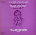 エルドマンのシューマン&シューベルト/ピアノ作品集   独EMI 3002 LP レコード