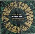 【テストプレス】カラヤンのワーグナー/「ジークフリート」全曲  独DGG 3003 LP レコード