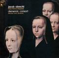 クレメンチッチ・コンソートのオブレヒト/ミサ曲「手に負えない運命の女神」  仏HM 3004 LP レコード