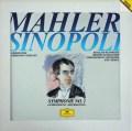 シノーポリのマーラー/交響曲第2番「復活」ほか  独DGG 3004 LP レコード