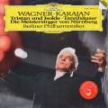 カラヤンのワーグナー/管弦楽曲集  独DGG 3004 LP レコード