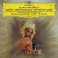 カラヤンのバッハ&モーツァルト/「マニフィカト」&「戴冠式ミサ」  独DGG 3004 LP レコード