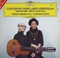 ベルガンサ&イエペスの「スペイン民謡集」  独DGG 3004 LP レコード