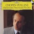 ポリーニのショパン/ピアノソナタ第2番「葬送行進曲付き」&第3番   独DGG 3004 LP レコード