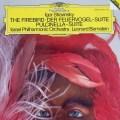 バーンスタインのストラヴィンスキー/「火の鳥」&「プルチネッラ」  独DGG 3004 LP レコード