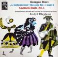 クリュイタンスのビゼー/「アルルの女」&「カルメン」組曲  独EMI 3004 LP レコード