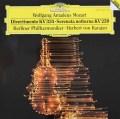 【テストプレス】カラヤンのモーツァルト/ディヴェルティメント第17番ほか  独DGG 3006 LP レコード