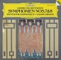 【テストプレス】アバドのベートーヴェン/交響曲第7&8番  独DGG 3006 LP レコード
