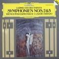 【テストプレス】アバドのベートーヴェン/交響曲第2&5番  独DGG 3006 LP レコード