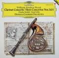 オルフェウス室内管弦楽団のモーツァルト/クラリネット&ホルン協奏曲集  独DGG 3006 LP レコード
