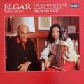 ショルティ&チョンのエルガー/ヴァイオリン協奏曲  蘭DECCA 3006 LP レコード