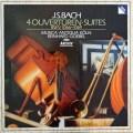 ムジカ・アンティクヮ・ケルンのバッハ/管弦楽組曲第1〜4番  独ARCHIV 3006 LP レコード