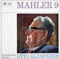 クレンペラーのマーラー/交響曲第9番  英Columbia 3006 LP レコード