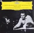 【オリジナル盤】アルゲリッチ&アバドのショパン&リスト/ピアノ協奏曲  独DGG 3007 LP レコード