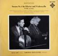 ナイ&ヘルシャーのベートーヴェン/チェロソナタ第5番  独TELEFUNKEN 3007 LP レコード