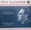 クレンペラーのベートーヴェン/「ミサ・ソレムニス」 仏VOX 3007 LP レコード