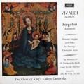 ケンブリッジ・キングス・カレッジ合唱団のヴィヴァルディ/「グローリア」ほか 英argo 3007 LP レコード